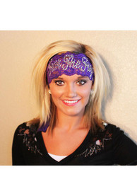 TCU Horned Frogs Womens Gameday Couture Lace Headband - Purple