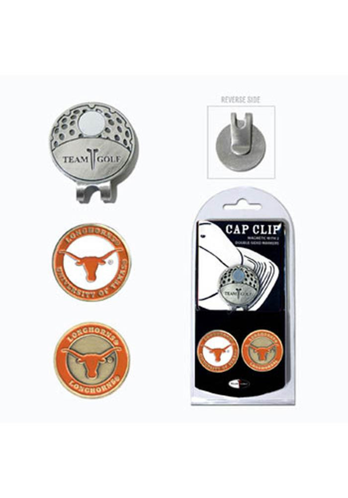Texas Longhorns Ball Markers and Cap Clip - Image 1