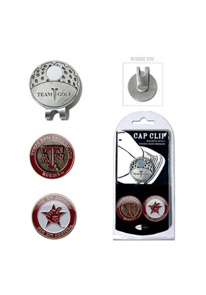 Texas A&M Aggies Ball Markers and Cap Clip - Image 1