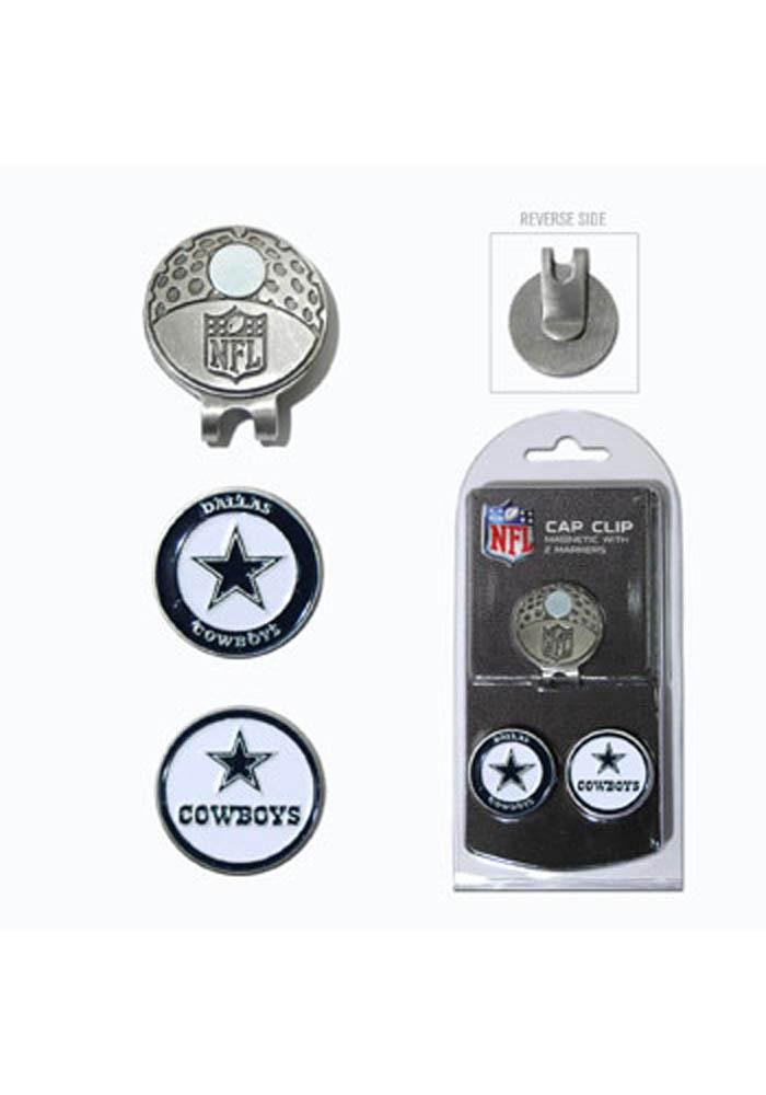 Dallas Cowboys Ball Markers and Cap Clip - Image 1