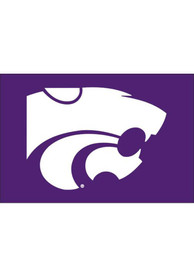 K-State Wildcats 12x18 Silk Screen Boat Flag