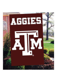 Texas A&M Aggies 44x28 Maroon Applique Banner