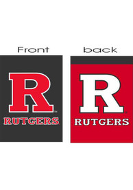Rutgers Scarlet Knights 30x40 2 Sided Silk Screen Banner