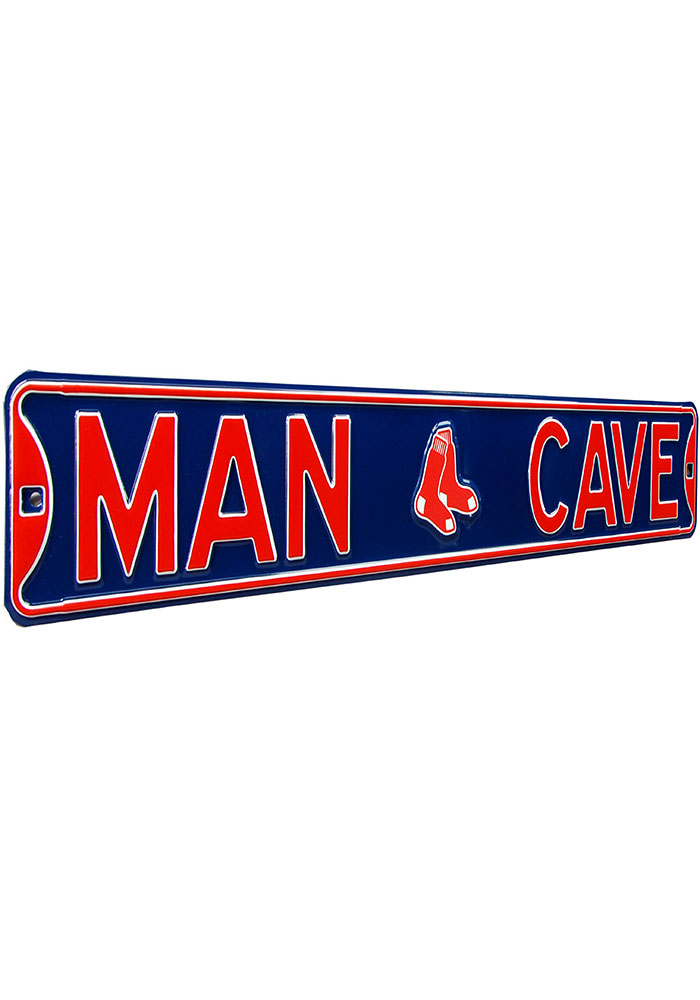 Boston Red Sox 6x36 Man Cave Street Sign - Image 2