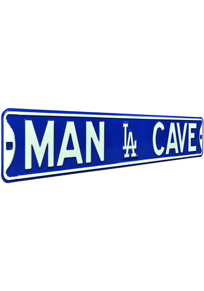 Los Angeles Dodgers 6x36 Man Cave Street Sign - Image 2