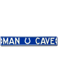 Indianapolis Colts 6x36 Man Cave Street Sign