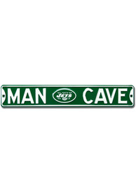 New York Jets 6x36 Man Cave Street Sign