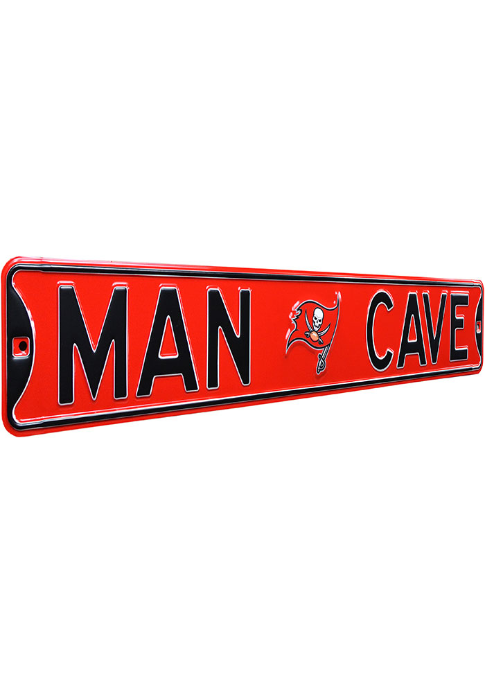 Tampa Bay Buccaneers 6x36 Man Cave Street Sign - Image 2