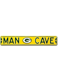 Green Bay Packers 6x36 Man Cave Street Sign