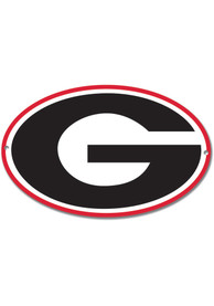 Georgia Bulldogs 12 Steel Logo Sign