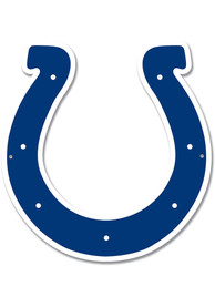 Indianapolis Colts 12 Steel Logo Sign