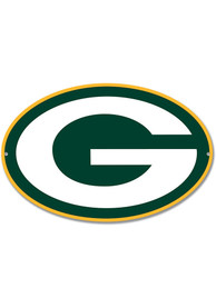 Green Bay Packers 12 Steel Logo Sign