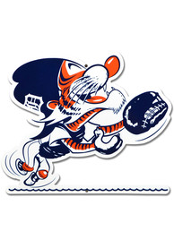 Detroit Tigers 12 Steel Logo Sign