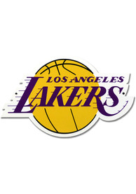 Los Angeles Lakers 12 Inch Steel Logo Sign