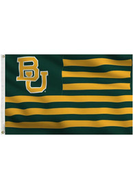 Baylor Bears 3x5 silk screen grommet flag Green Silk Screen Grommet Flag