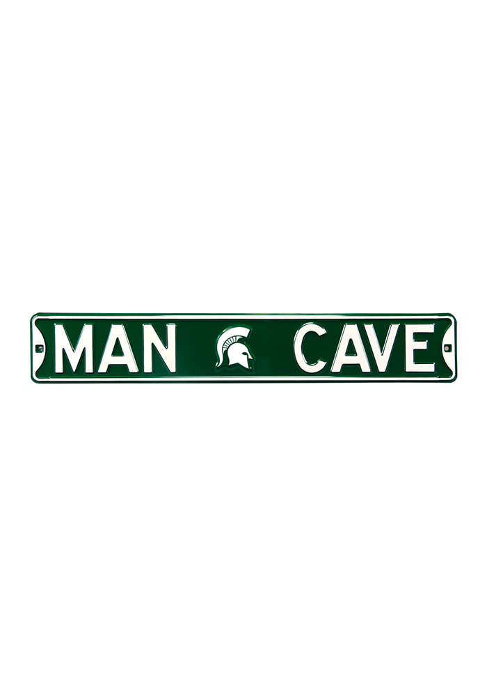 Michigan Man Cave Signs : Michigan state spartans man cave street sign