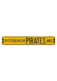 Pittsburgh Pirates Ave Sign