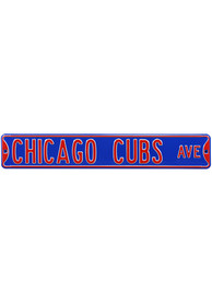 Chicago Cubs Ave Sign
