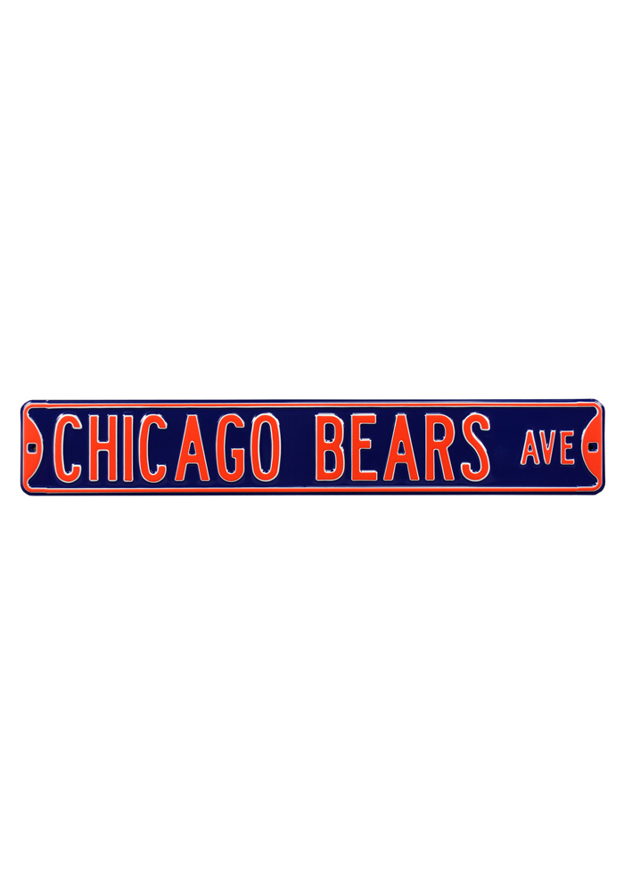 Chicago Bears Avenue Street Sign - Image 1