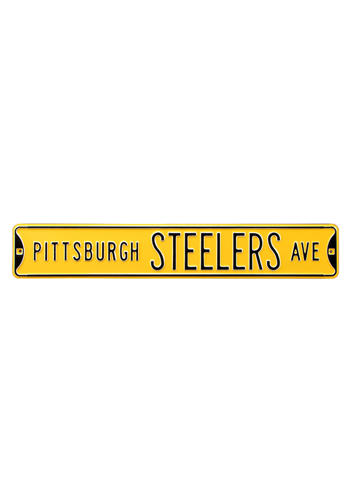 Pittsburgh Steelers 6x36 Ave Street Sign - Image 1