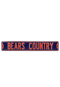 Chicago Bears 6x36 Bears Country Street Sign