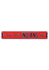 Cleveland Indians 6x36 Ave Street Sign