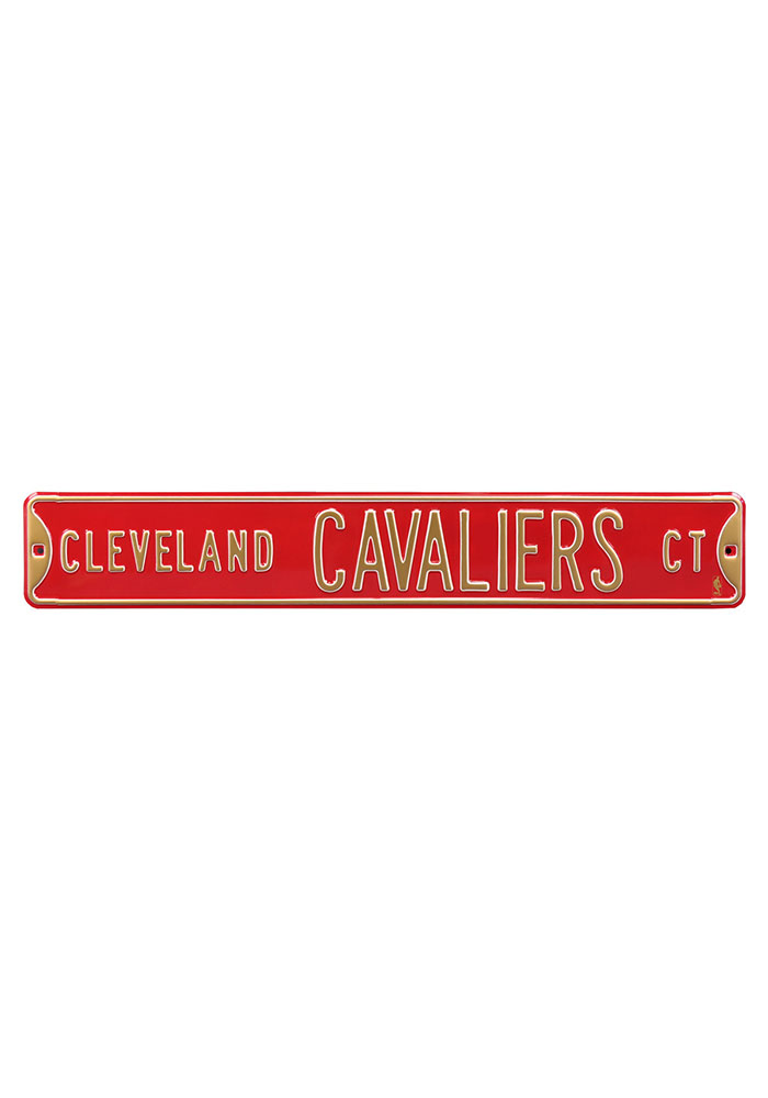 Cleveland Cavaliers 6x36 Ct Street Sign - Image 1