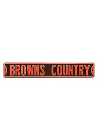 Cleveland Browns 6x36 Browns Country Sign