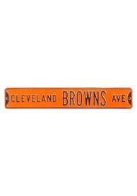 Cleveland Browns 6x36 Ave Street Sign