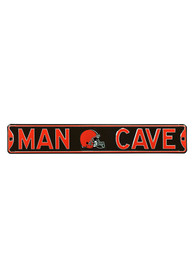 Cleveland Browns 6x36 Man Cave Street Sign