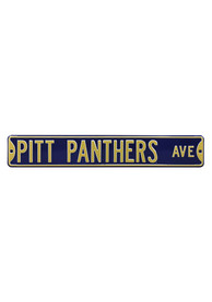 Pitt Panthers 6x36 Ave Street Sign