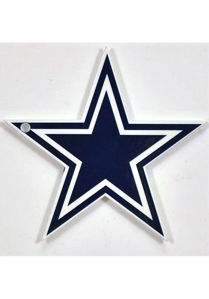 Dallas Cowboys Steel Logo Magnet - Image 1