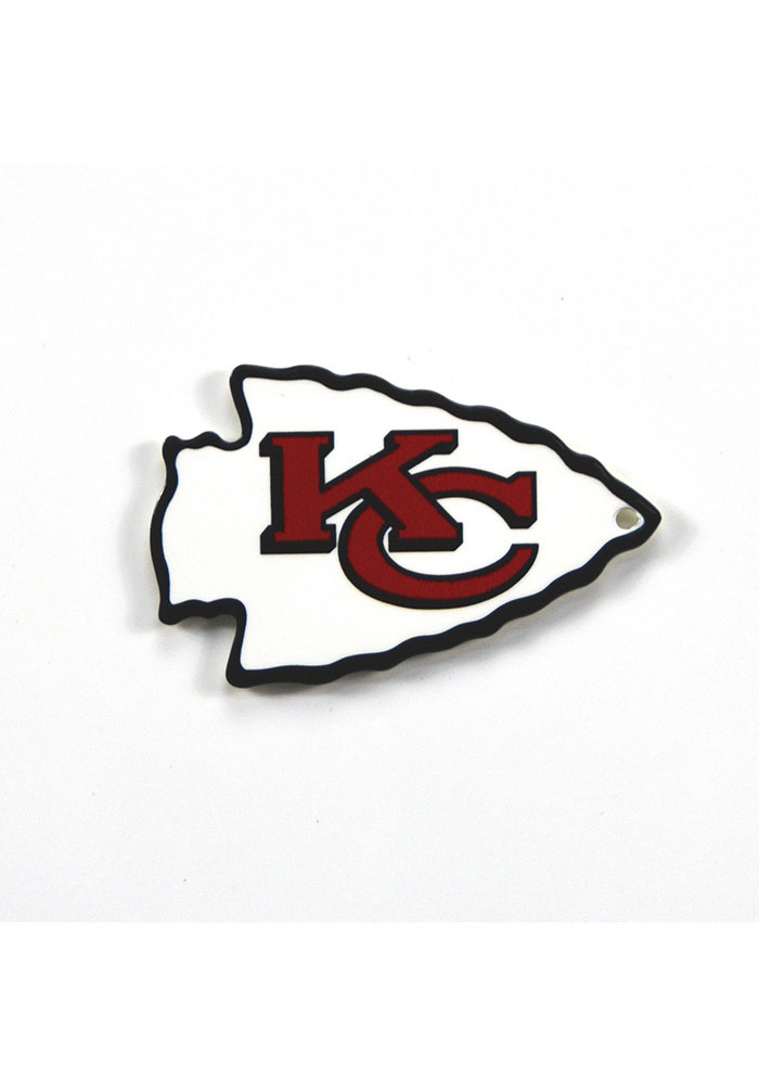 Kansas City Chiefs Steel Logo Magnet - Image 1