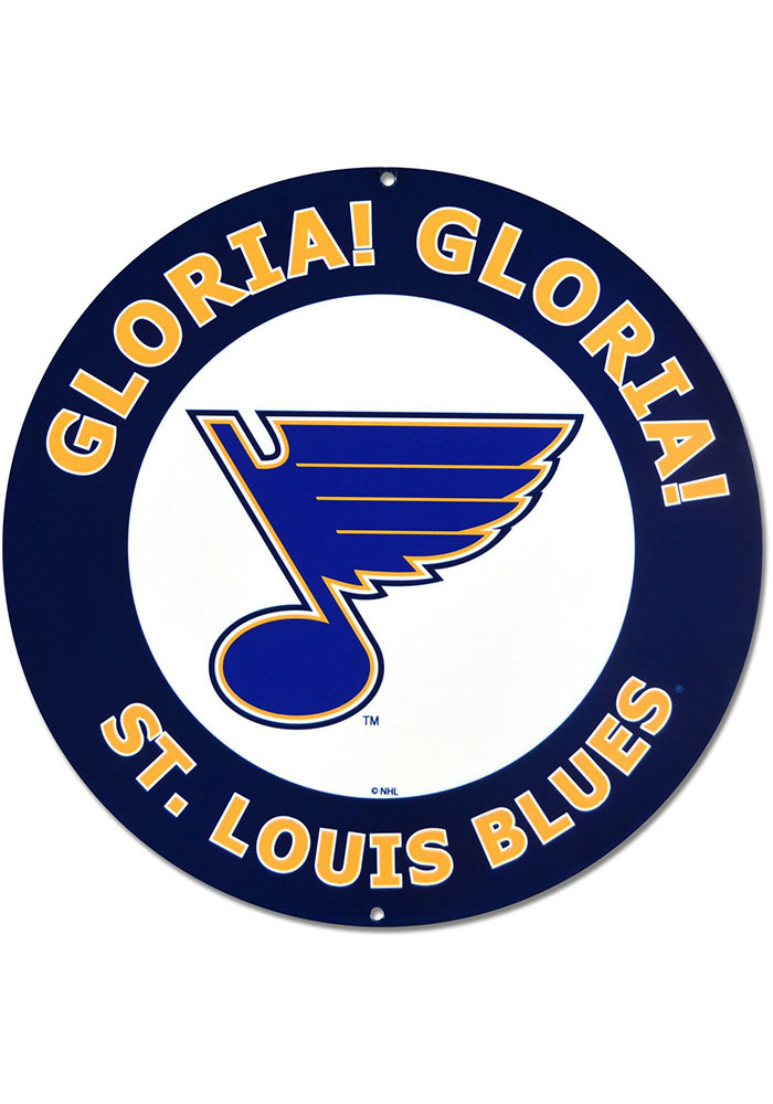 St Louis Blues Play Gloria Sign - Image 1