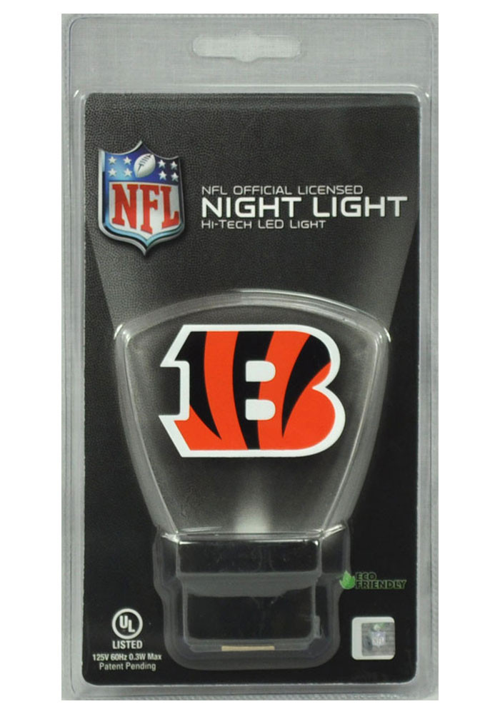 Cincinnati Bengals LED Illuminated Night Light - Image 1