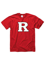 Rutgers Scarlet Knights Youth Red Big Clean Logo T-Shirt