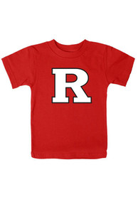 Rutgers Scarlet Knights Infant Big Clean Logo T-Shirt - Red