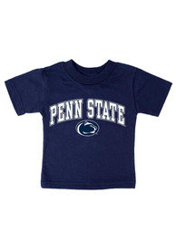 Penn State Nittany Lions Infant Arch Mascot T-Shirt - Navy Blue