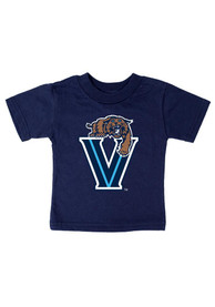 Villanova Wildcats Infant Big Logo T-Shirt - Navy Blue