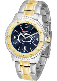 Penn State Nittany Lions Competitor 2 Tone Watch - Silver