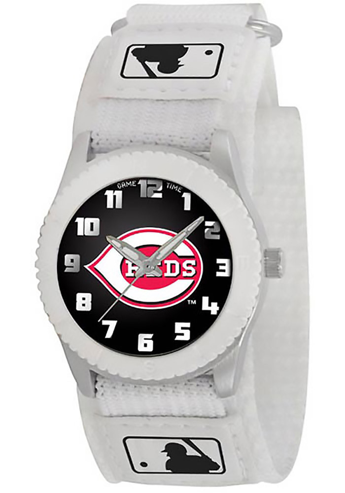Cincinnati Reds White Rookie Youth Watches - Image 1