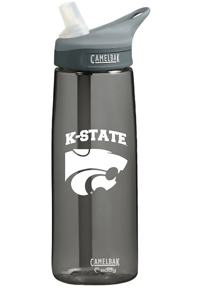 K-State Wildcats Charcoal Camelbak Water Bottle - Image 1