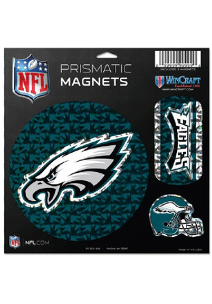 Philadelphia Eagles Prismatic Magnet