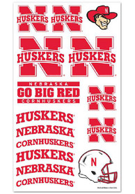 Nebraska Cornhuskers Sheet Tattoo