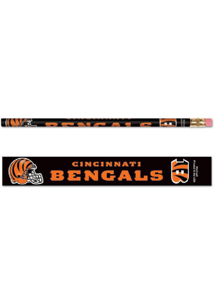 Cincinnati Bengals 6 Pack Pencil - Image 1
