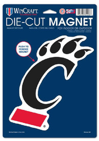 Cincinnati Bearcats Die Cut Car Magnet - Black