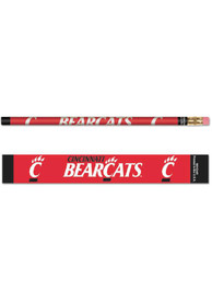 Cincinnati Bearcats 6 Pack Pencil