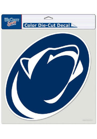 Penn State Nittany Lions 8x8 Full Color Auto Decal - Navy Blue