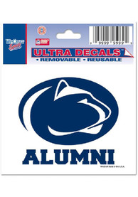 Penn State Nittany Lions 3x4 Alumni Auto Decal - Navy Blue
