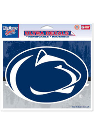Penn State Nittany Lions 5x6 Ultra Colored Auto Decal - Navy Blue